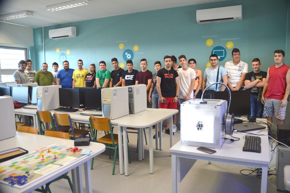 Πρωτότυπο επιτραπέζιο παιχνίδι κατασκεύασαν στο Εργαστήριο Ρομποτικής οι μαθητές του ΕΠΑΛ Μεγάρων