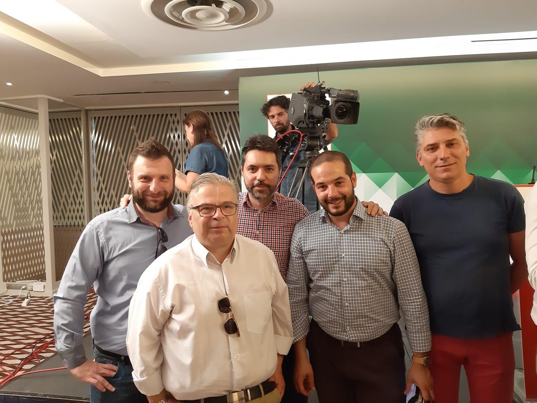 Υποψήφιοι βουλευτές με το ΚΙΝΑΛ Αντώνης Υψηλάντης-Μαργαρίτα Ακαμιωτάκη