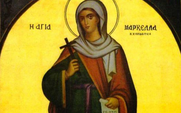 Πανηγυρίζει ο Ιερός Ναός Αγίας Μαρκέλλης στο Πανόραμα