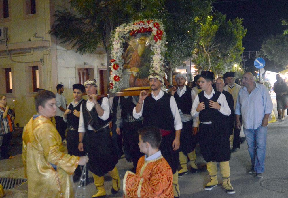 Εορτασμός Αγίου Ιωάννου Θεολόγου στο Μελί Μεγάρων