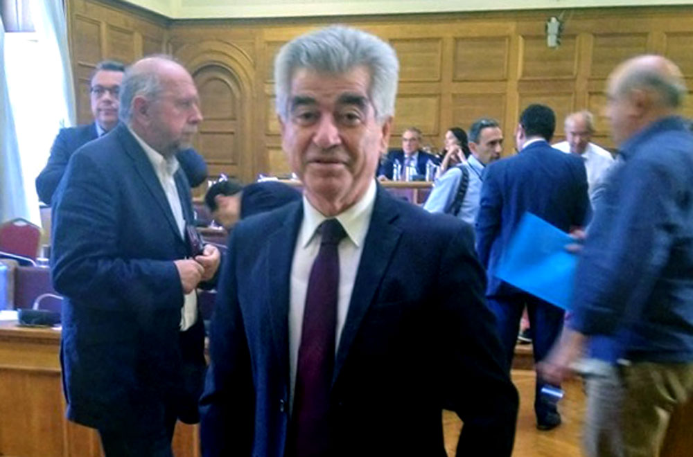Γρ. Σταμούλης: Εισήγηση στη Βουλή για την Κινέτα
