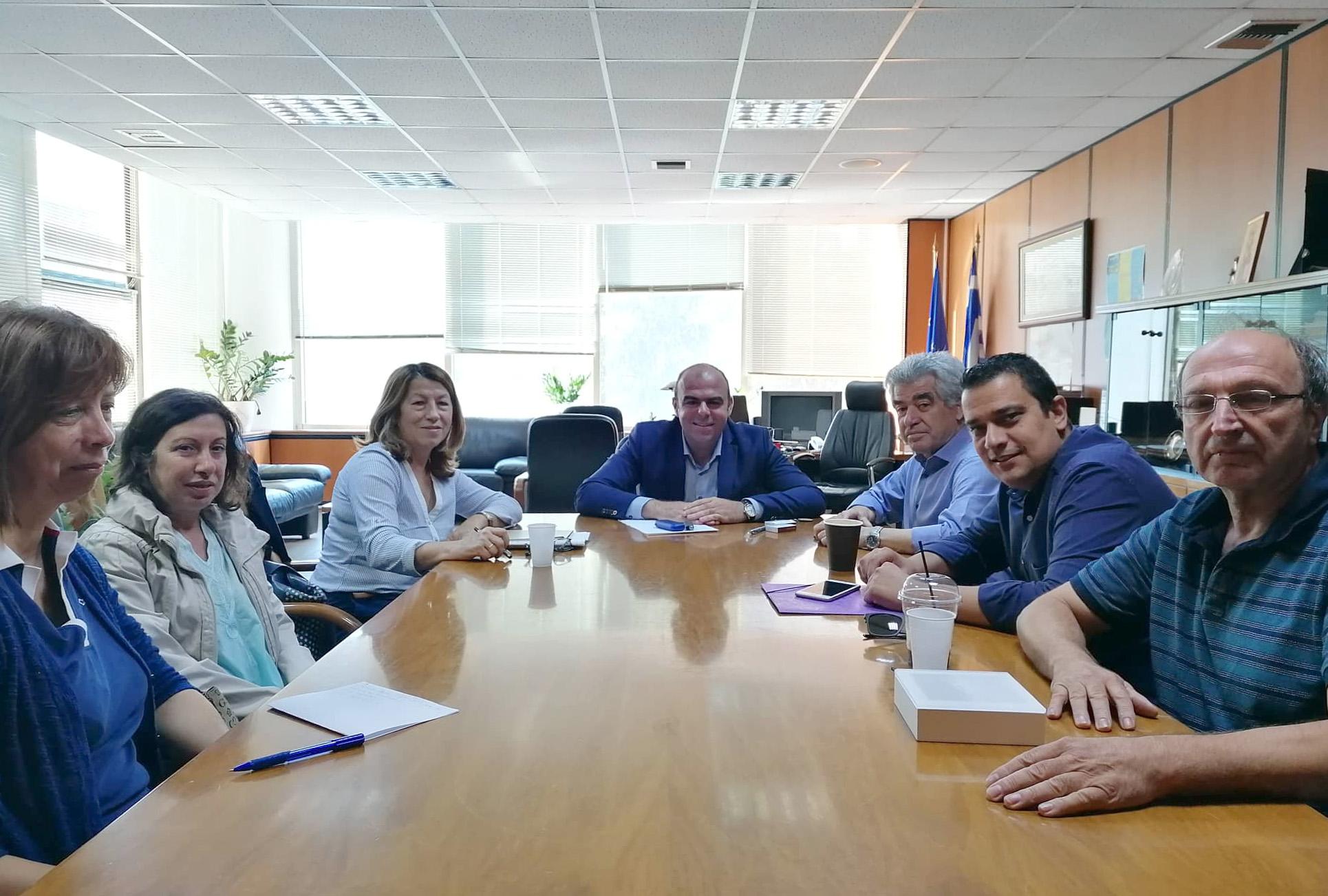 Λ. Κοσμόπουλος: Προγραμματισμός έργων σε συνεργασία με τον Δήμο Μεγαρέων και την τοπική κοινωνία