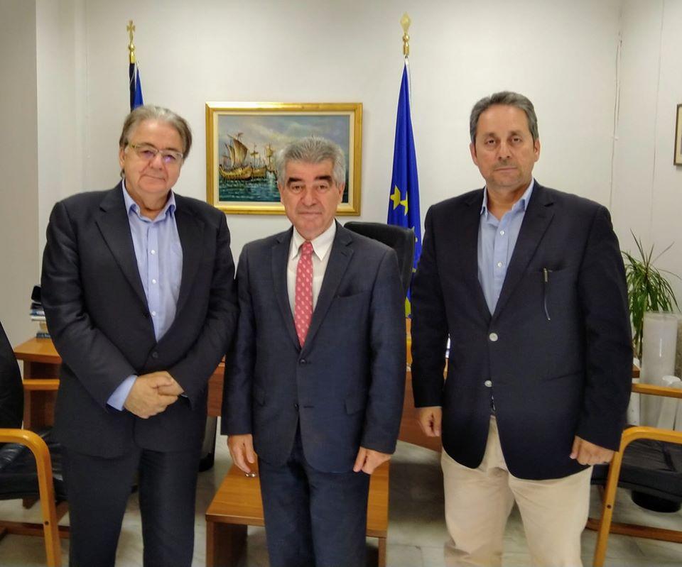 Συνάντηση Διοικήσεων Δήμου Μεγαρέων-Οργανισμού Λιμένος Ελευσίνος