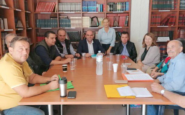 Λευτέρης Κοσμόπουλος: «Mελέτη για συνολική αντιπλημμυρική θωράκιση της Κινέτας»