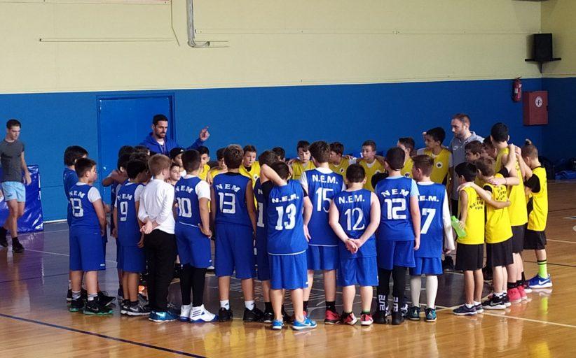 Μπασκετικό Σχολείο ΝΕΜ: Αποτελέσματα Αγώνων