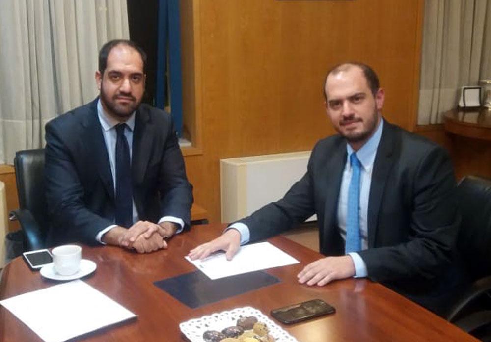 Γ. Κώτσηρας σε συνάντηση με Γ. Κεφαλογιάννη: «Ανάγκη για ενίσχυση των συγκοινωνιών στην Δυτική Αττική»