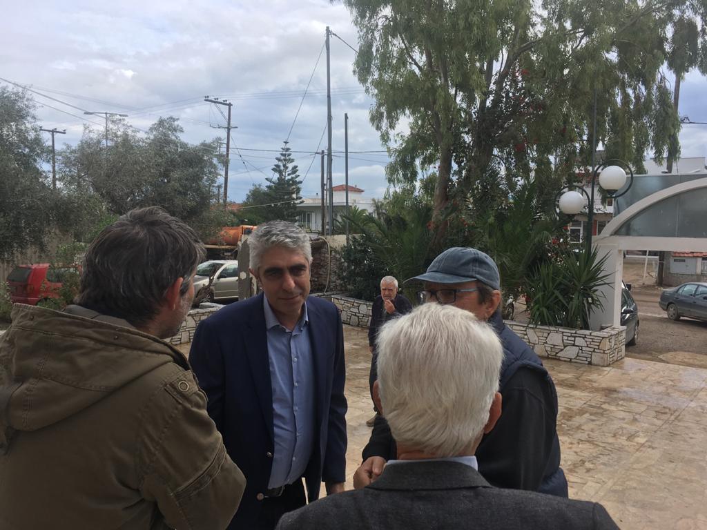 Επίσκεψη Γιώργου Τσίπρα στη Κινέτα
