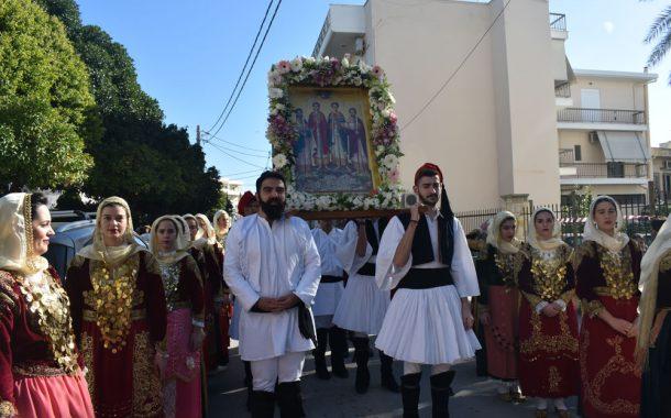 Εορτασμός των Αγίων 4 Μαρτύρων