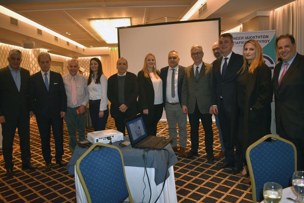 Ανοιχτός διάλογος πολιτικού & δημοσιογραφικού κόσμου στην εκδήλωση της Ένωσης Ιδιοκτητών Επαρχιακού Τύπου