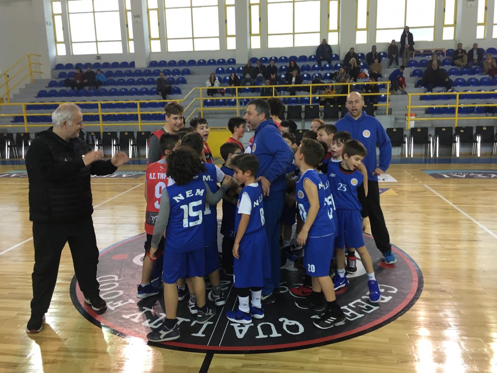 ΝΕΜ Μπασκετικό σχολείο: 10 παιχνίδια σε 2 μέρες