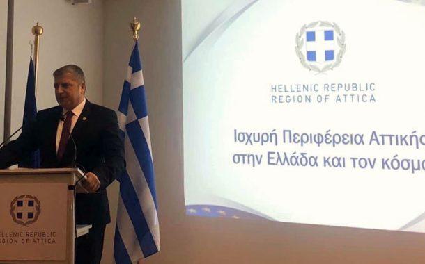 Συστηματική εκστρατεία τουριστικής προβολής της Αττικής προωθεί ο Γ. Πατούλης