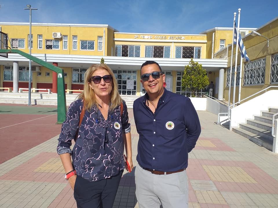 Σπύρος Κορώσης-Γιάννα Ρήγα ενισχύουν έμπρακτα τη μάχη κατά του ιού