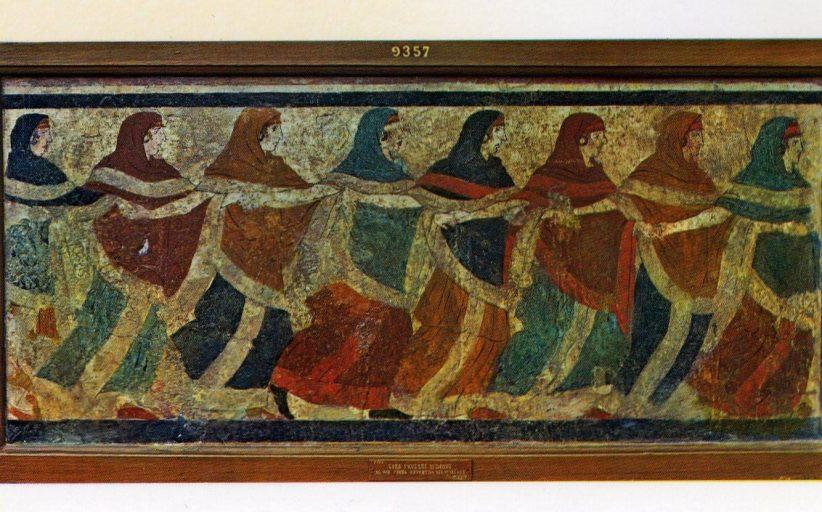 Ο Χορός της Τράτας στα Μέγαρα
