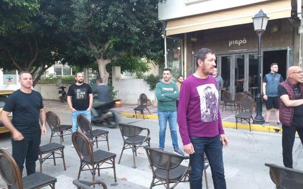 Βίντεο: Διαμαρτυρία στην πλατεία Λιτάρα