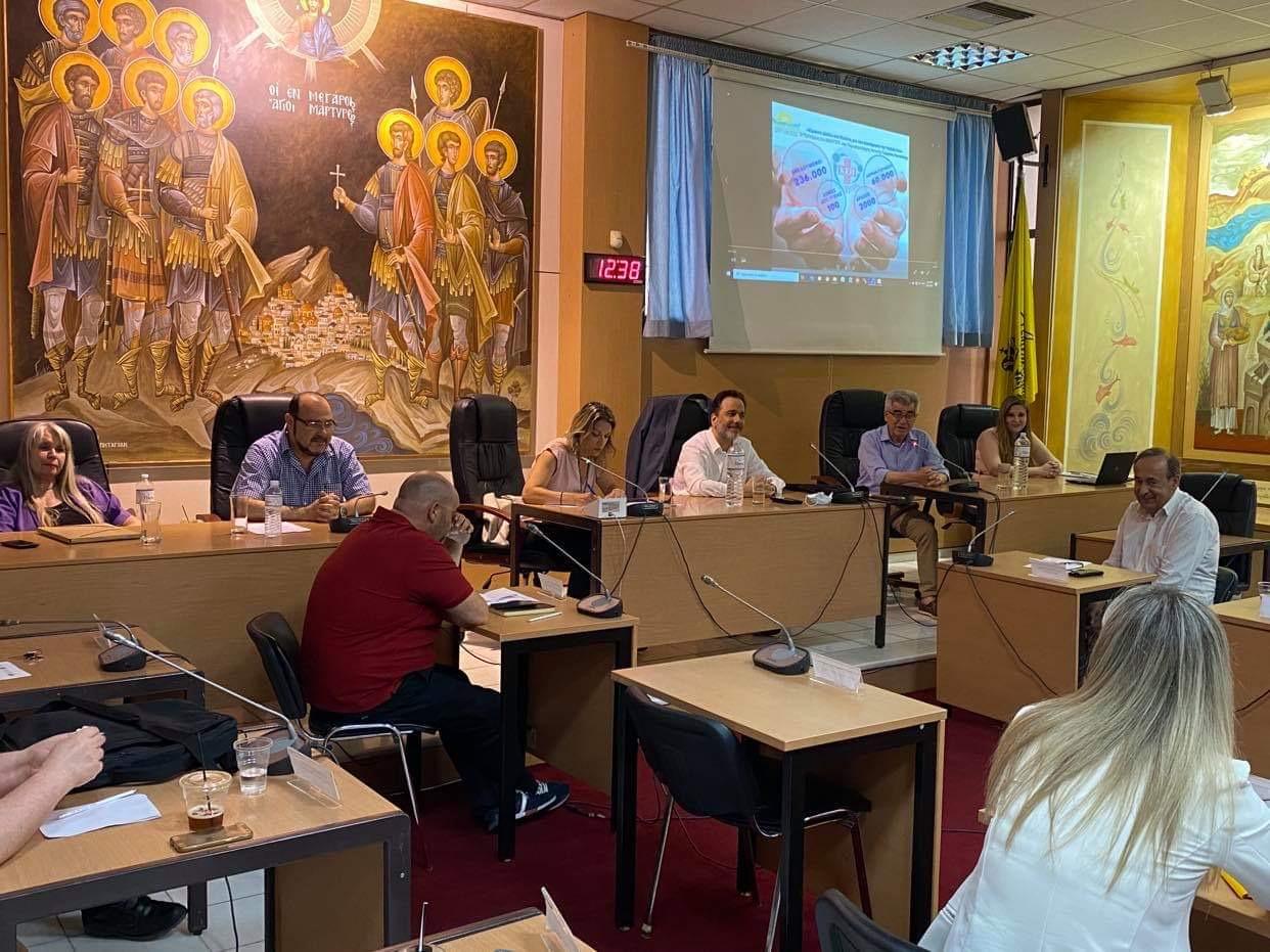 Συνάντηση εργασίας στον Δήμο Μεγαρέωνγια την Δικτύωση των ΚΕΠ Υγείας των Δήμων της Περιφέρειας