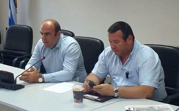 Λ. Κοσμόπουλος: «Λύνουμε άμεσα ζητήματα για την αντιπυρική περίοδο»