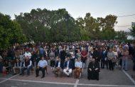 Συλλαλητήριο κατά της δομής μεταναστών στην Ν. Πέραμο(βίντεο-ρεπορτάζ)