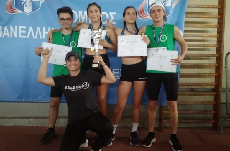 Χρυσό στη σκυτάλη του ΑΟΜ στο Πανελλήνιο Πρωτάθλημα