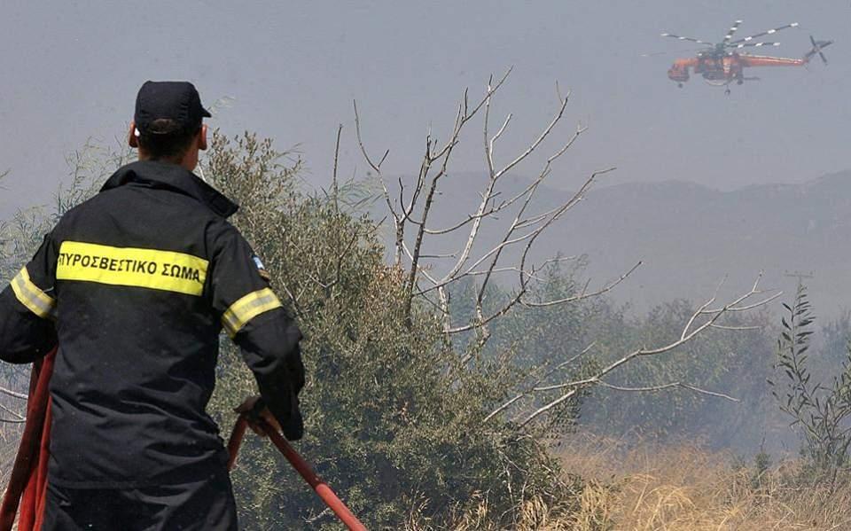 Προσοχή σε κινδύνους πυρκαγιάς σε γεωργικές εκτάσεις