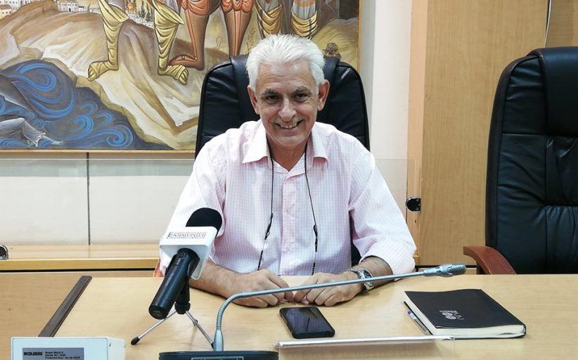 Στ. Φωτίου: Έχει κατατεθεί πρόταση χρηματοδότησης και για τις συνδέσεις αποχέτευσης στην Ν. Πέραμο