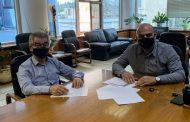 Σύσκεψη εργασίας του Αντιπεριφερειάρχη Δυτ. Αττικής με τον Δήμαρχο Μεγαρέων