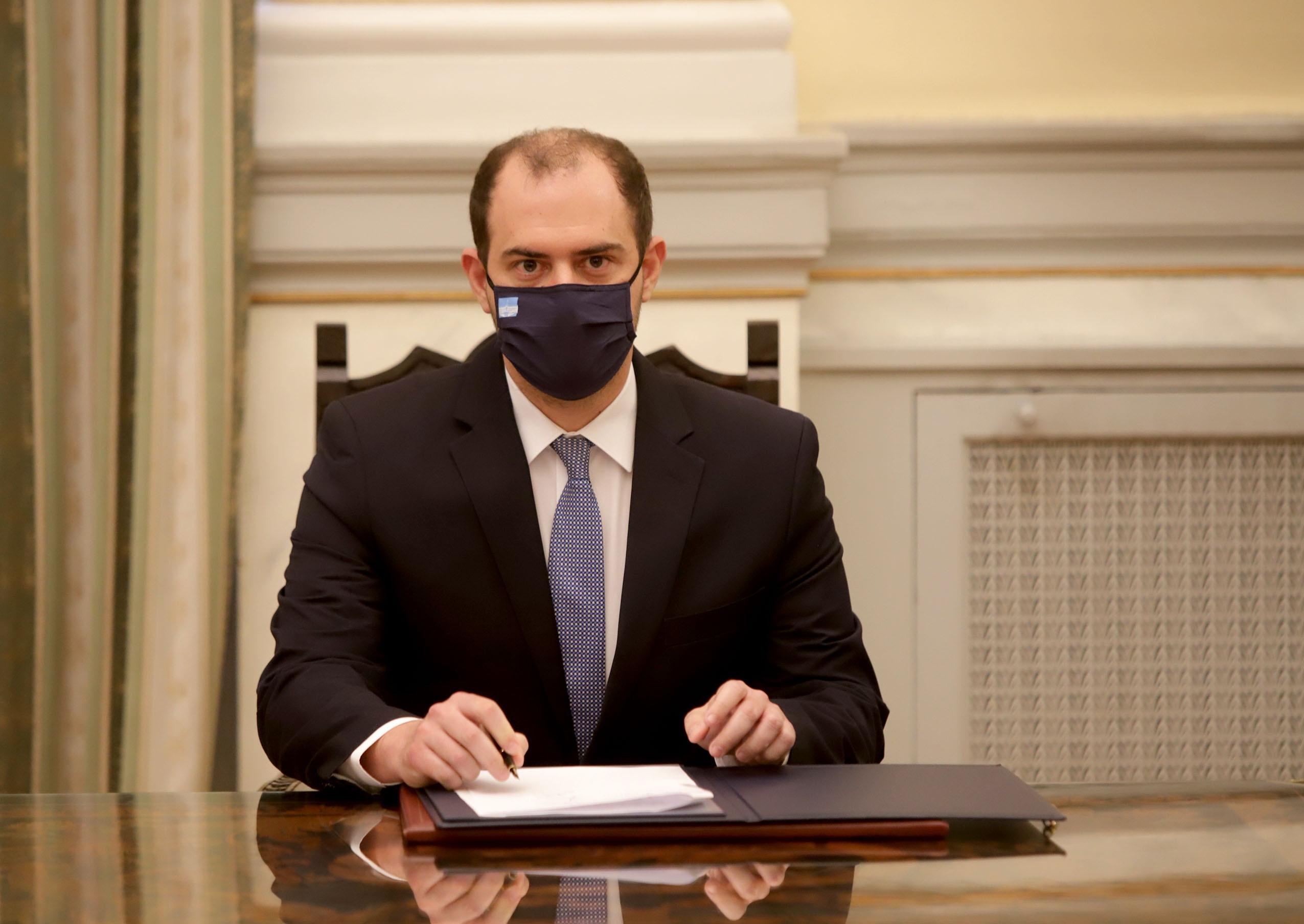 Ανέλαβε καθήκοντα στο Υπουργείο Δικαιοσύνης ο νέος Υφυπουργός Γιώργος Κώτσηρας
